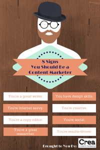 signs of a good content marketer