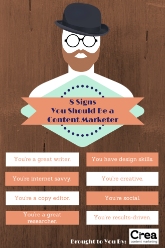 signs you should be a content marketer